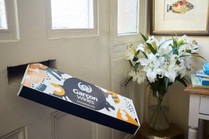 Deliver wine through the post with Garcon wines